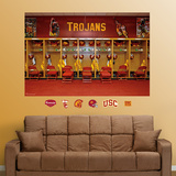 USC Locker Room Mural Wall Decal