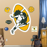Green Bay Packers Classic Logo Wall Decal