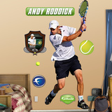 Andy Roddick Wall Decal
