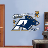 Akron Zips Logo Wall Decal