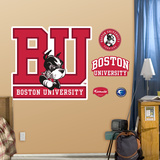 Boston University Logo Wall Decal