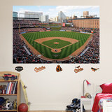 Baltimore Orioles Oriole Park at Camden Yards Stadium Mural Autocollant mural