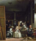 Las Meninas Muursticker van Diego Velázquez