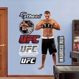 Mauricio Rua  Muursticker