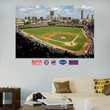 Chicago Cubs Wrigley Field Stadium Mural   Wall Decal