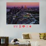 Boston Red Sox Fenway Park Skyline Stadium Mural   Autocollant mural