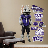 TCU Superfrog Wall Decal