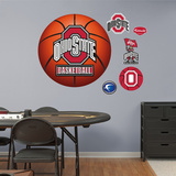 Ohio State University of Basketball Logo   Wall Decal