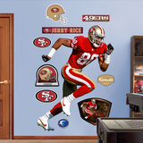 Jerry Rice   Wall Decal