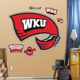 Western Kentucky Logo Wall Decal