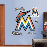 Miami Marlins 2012 Logo Wall Decal