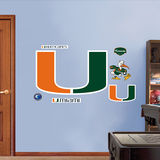 Miami Logo   Wall Decal