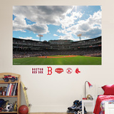 Boston Red Sox Fenway Park Outfield Stadium Mural   Autocollant mural