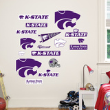 Kansas State Logo Sheet Jr. Wall Decal