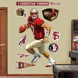 Christian Ponder Florida State   Wall Decal