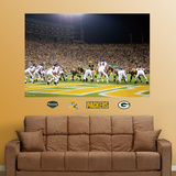 Packers-Bears End Zone Mural Wall Decal