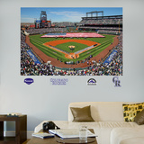 Colorado Rockies Coors Field Stadium Mural   Wall Decal
