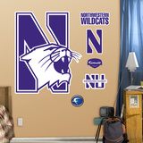 Northwestern Logo Wall Decal