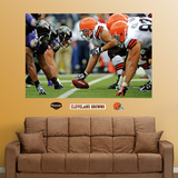 Browns-Ravens Line of Scrimmage Mural Wall Decal