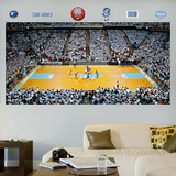 North Carolina Basketball Arena Mural   Wall Decal