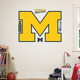 Michigan Wolverines Logo Wall Decal