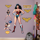 Wonder Woman wandtattoos