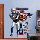 Wes Welker 2011 Edition Wall Decal