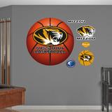 University of Missouri Basketball Logo  Wall Decal