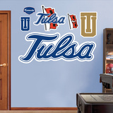 Tulsa Logo   Wall Decal
