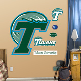 Tulane Logo Wall Decal