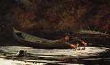 Hound and Hunter Wall Decal by Winslow Homer