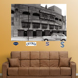 Comiskey Park Historic Exterior Mural Wall Decal