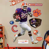 CJ Spiller Clemson Wall Decal