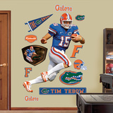 NCAA/NFLPA Florida Gators Tim Tebow Blue-Florida Wall Decal Sticker Wall Decal
