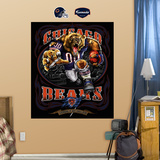 Chicago Bears Liquid Blue Wall Decal