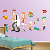 Phineas and Ferb Wall Decal