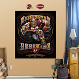 Washington Redskins Liquid Blue Wall Decal