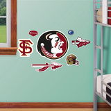 Florida State Jr. Logosheet Wall Decal