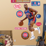 Vinnie Johnson Wall Decal