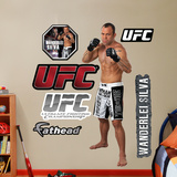 Wanderlei Silva  Muursticker