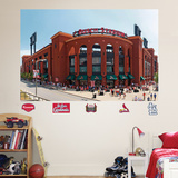 St. Louis Cardinals Busch Stadium Exterior Mural Wall Decal