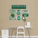 Colorado State Logo Sheet Jr. Wall Decal