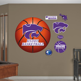 Kansas State Basketball Logo Wall Decal