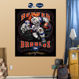 Denver Broncos Liquid Blue Wall Decal