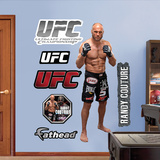 Randy Couture  Muursticker