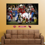Larry Fitzgerald Super Bowl Mural Wall Mural