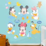 Baby Mickey Mouse Wall Decal