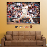 Tim Lincecum Mural   Wall Decal