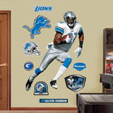 Calvin Johnson Wall Decal