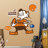Cleveland Browns Classic Logo Wall Decal